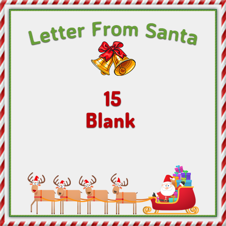 Create your Personalized Letter from Santa  North Pole Letters